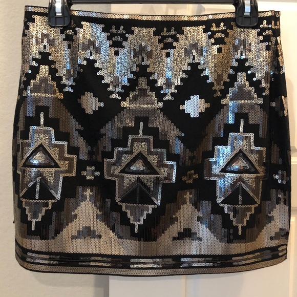 Express Dresses & Skirts - Express Mini Sequin skirt